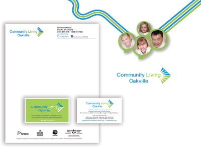 Community Living Oakville - Branding